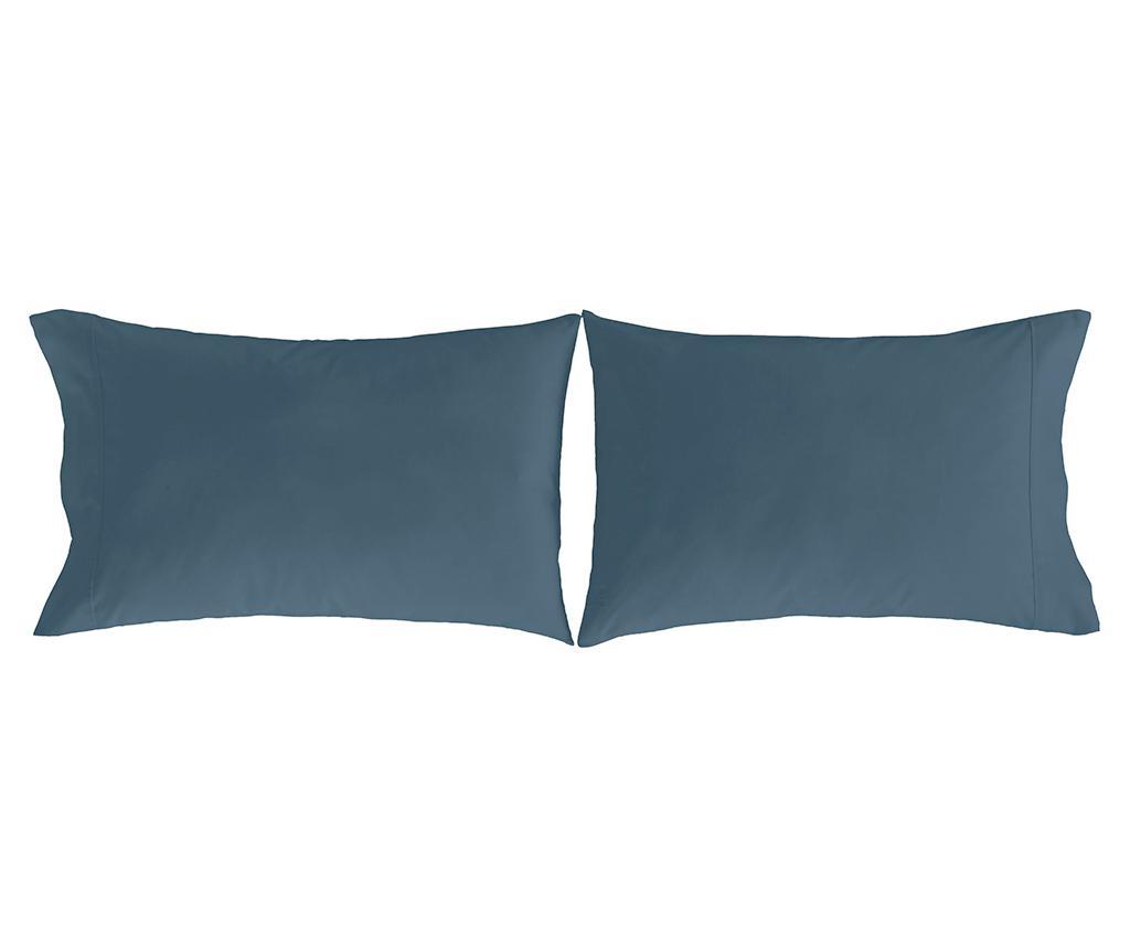 Set 2 fete de perna Pure Blue 50x75 cm imagine