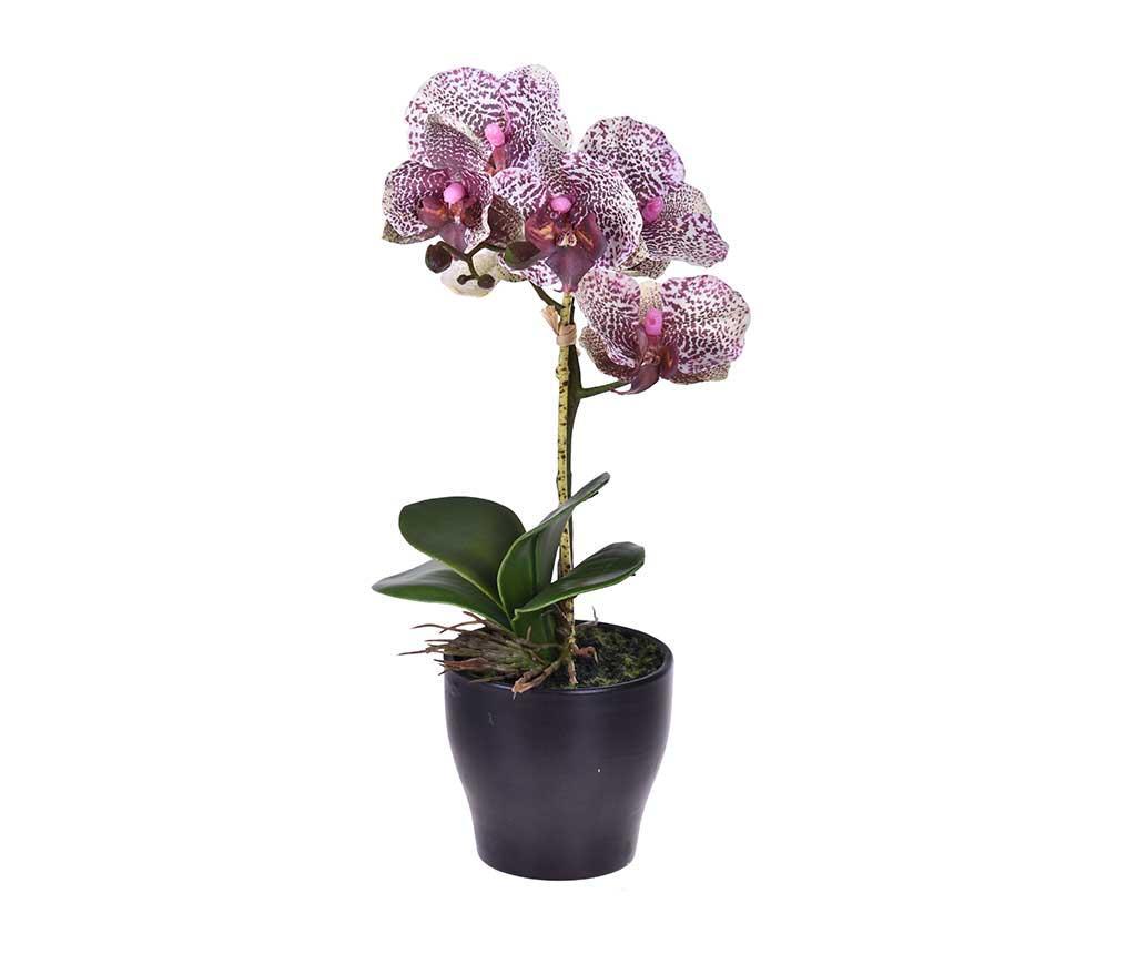 Floare artificiala in ghiveci Orchidea Purple