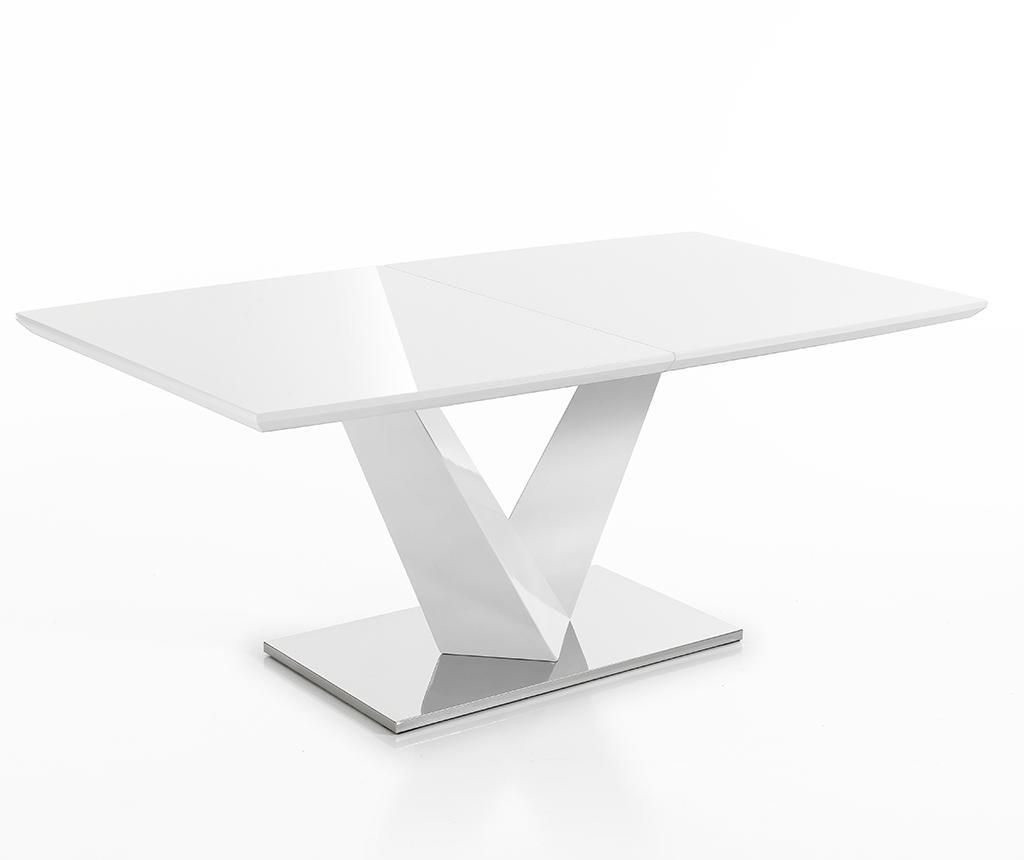 Masa extensibila Valy White - Tomasucci, Alb imagine