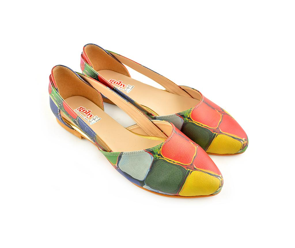 Balerini dama Colored Stones 40