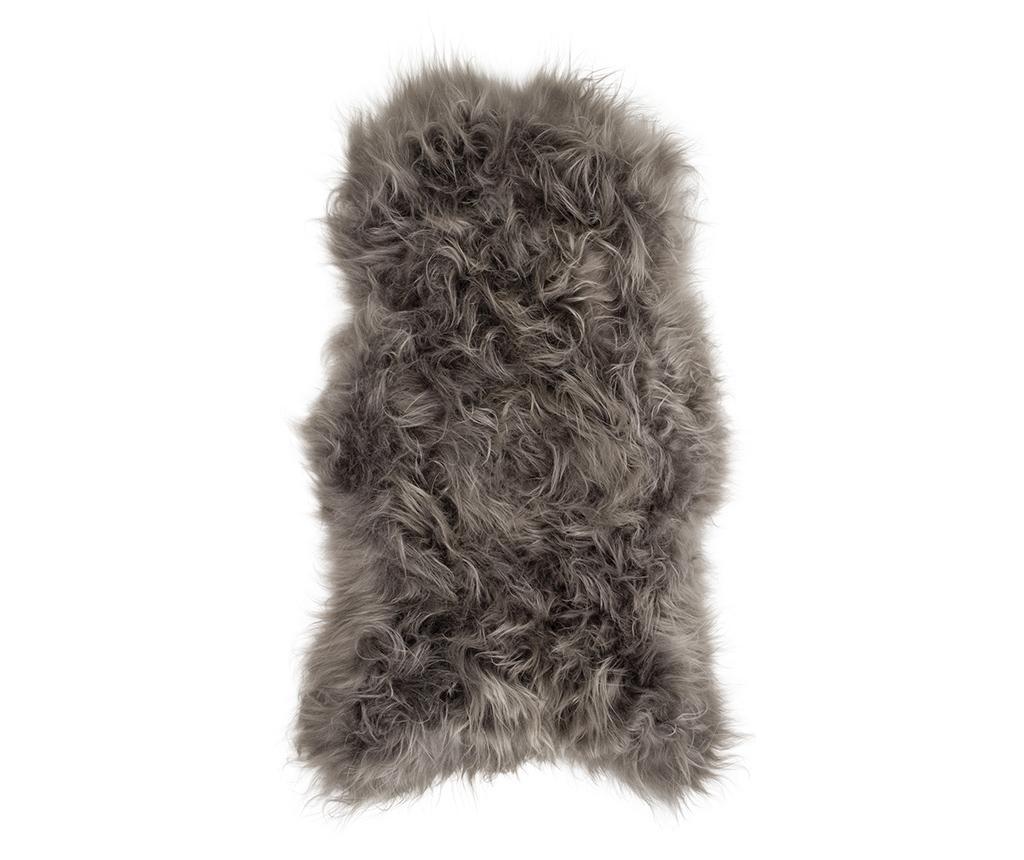 Piele de miel Icelandic Stone Brisa 55x100 cm - Arctic Fur, Gri & Argintiu imagine