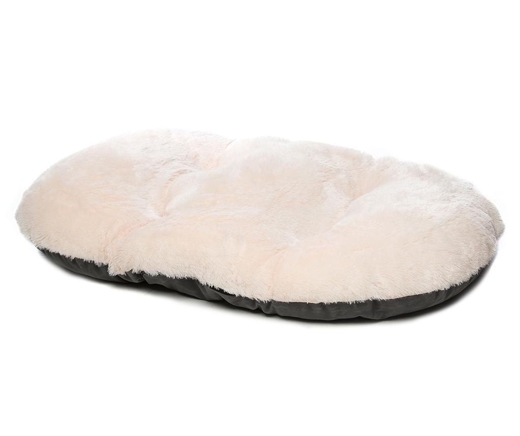 Perna pentru animale de companie Nordic Oval Grey 62x101 cm