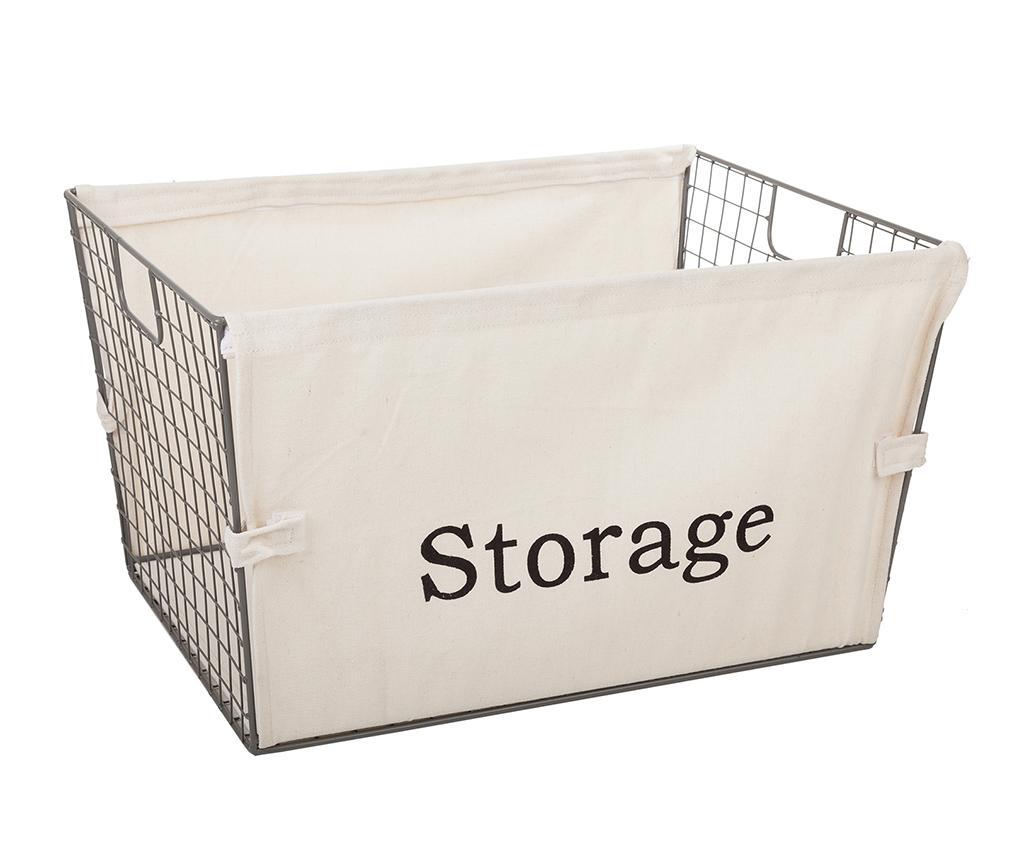 Cos Storage L - Creaciones Meng, Gri & Argintiu vivre.ro