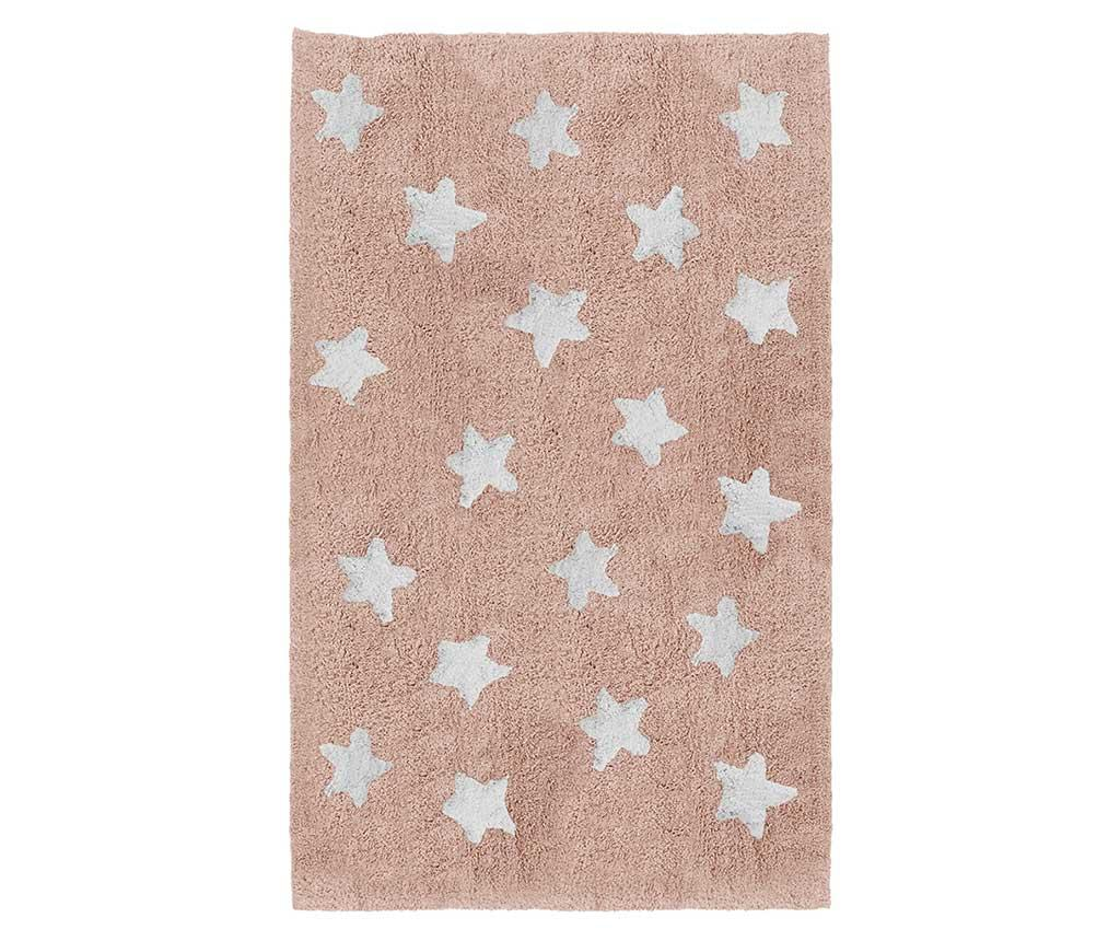 Covor Full Stars Pink 120x160 cm vivre.ro