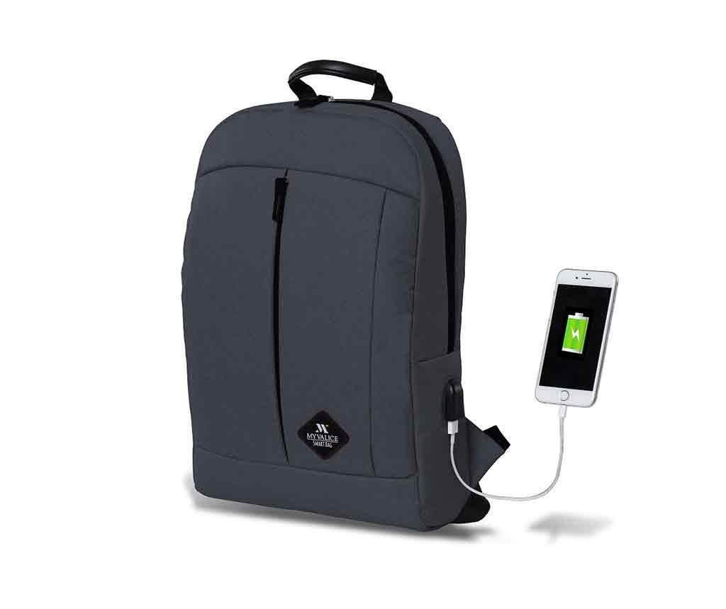 Rucsac USB Yosit Dark Grey