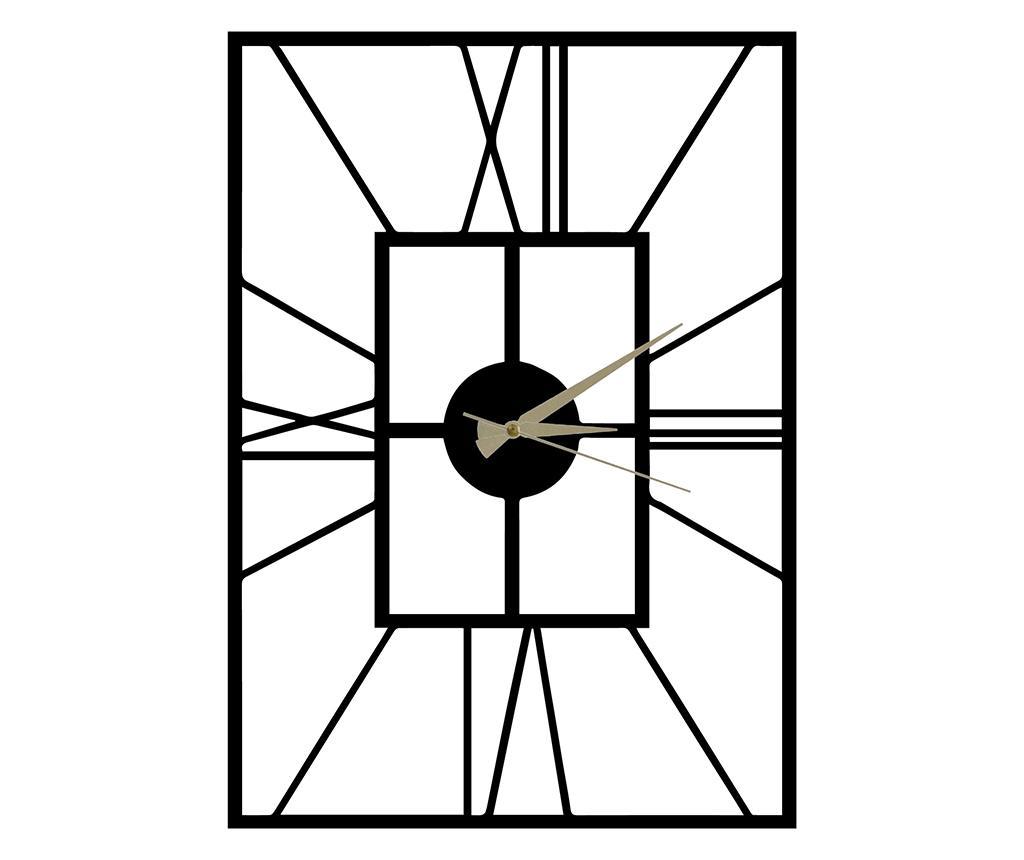 Ceas de perete Asalet - Pirudem, Negru imagine