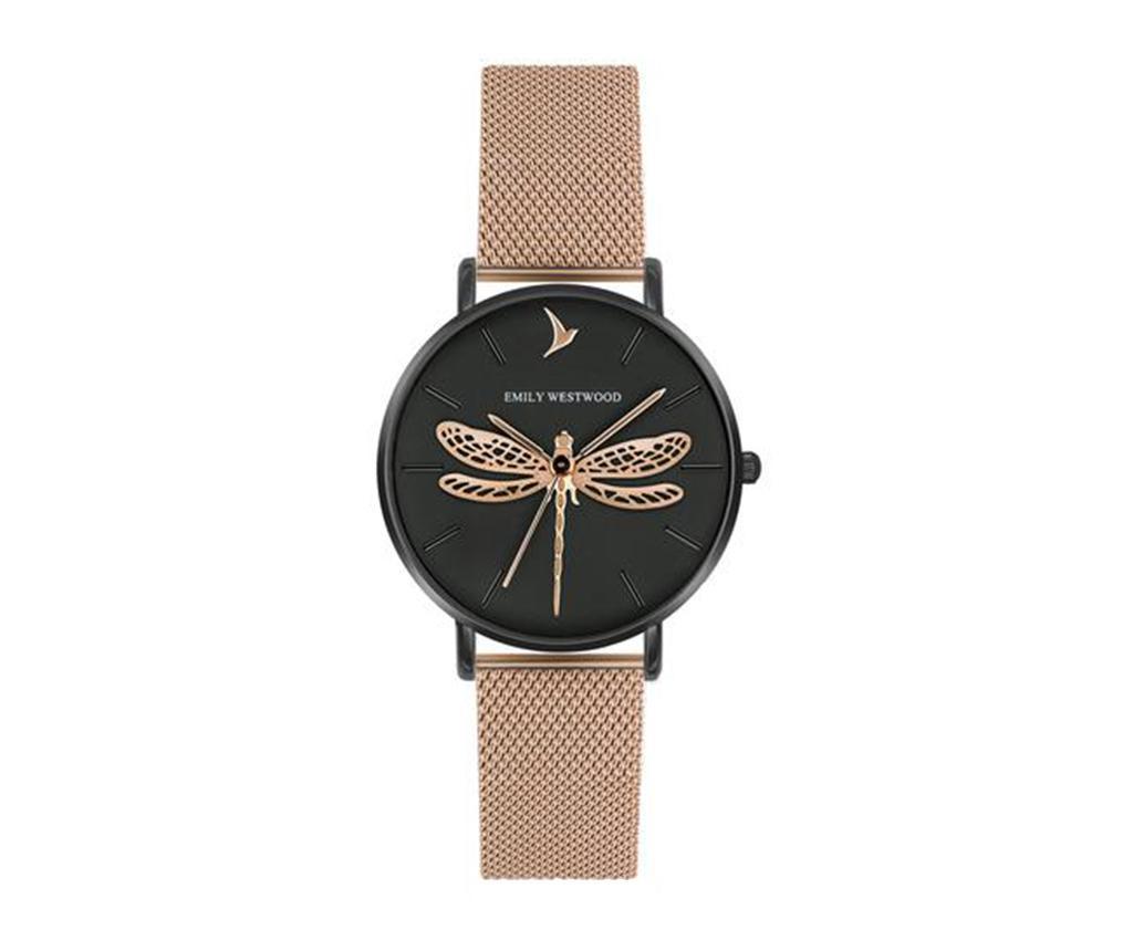 Ceas De Mana Dama Emily Westwood Dragonfly Rose