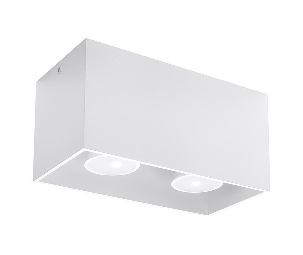 Plafoniera Geo Two White - Nice Lamps, Alb imagine