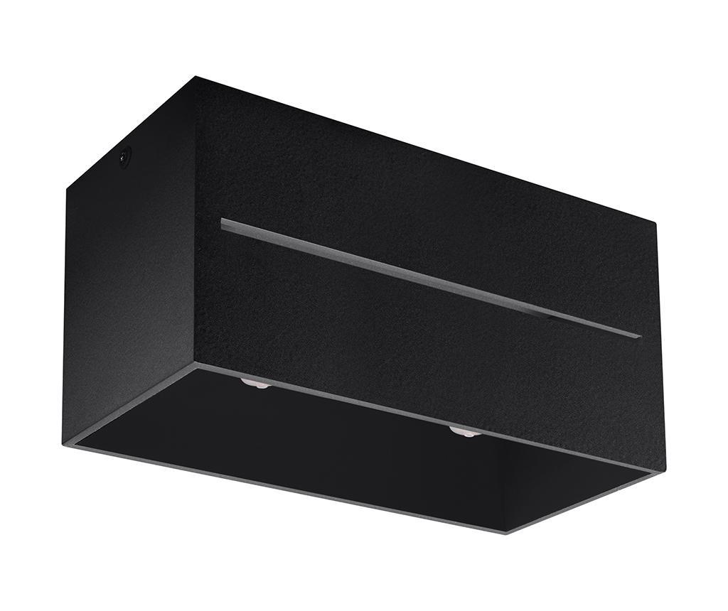 Plafoniera Lorum Two Black - Nice Lamps, Negru imagine