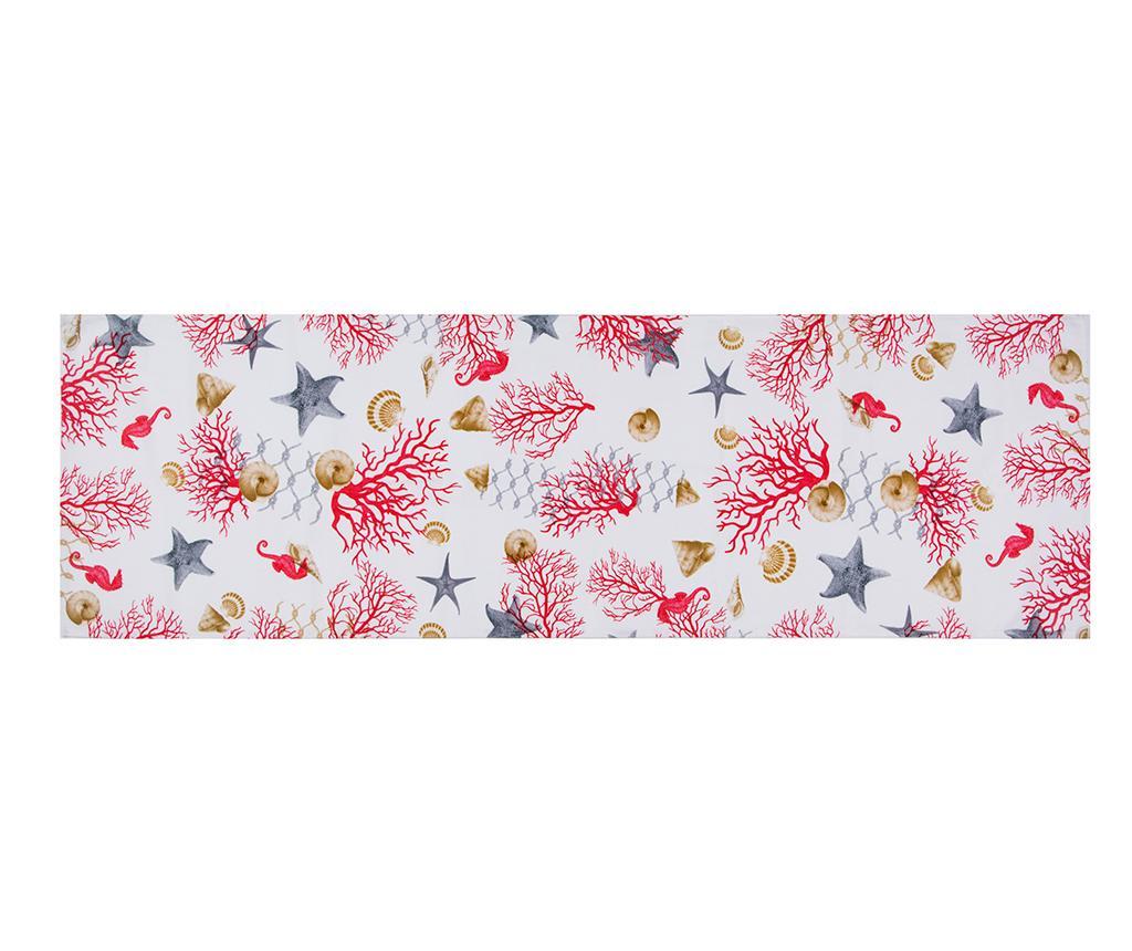 Traversa de masa Coral 45x140 cm imagine