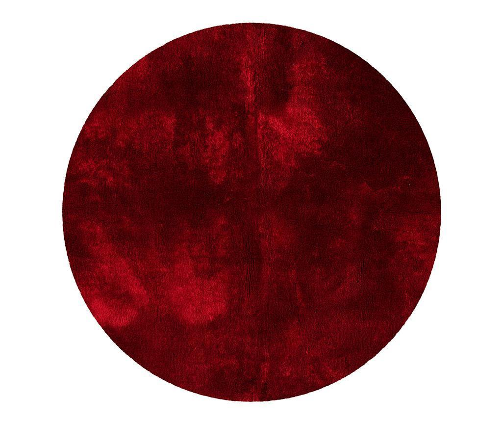 Covor Tapp Shaggy Red Round 150 cm vivre.ro