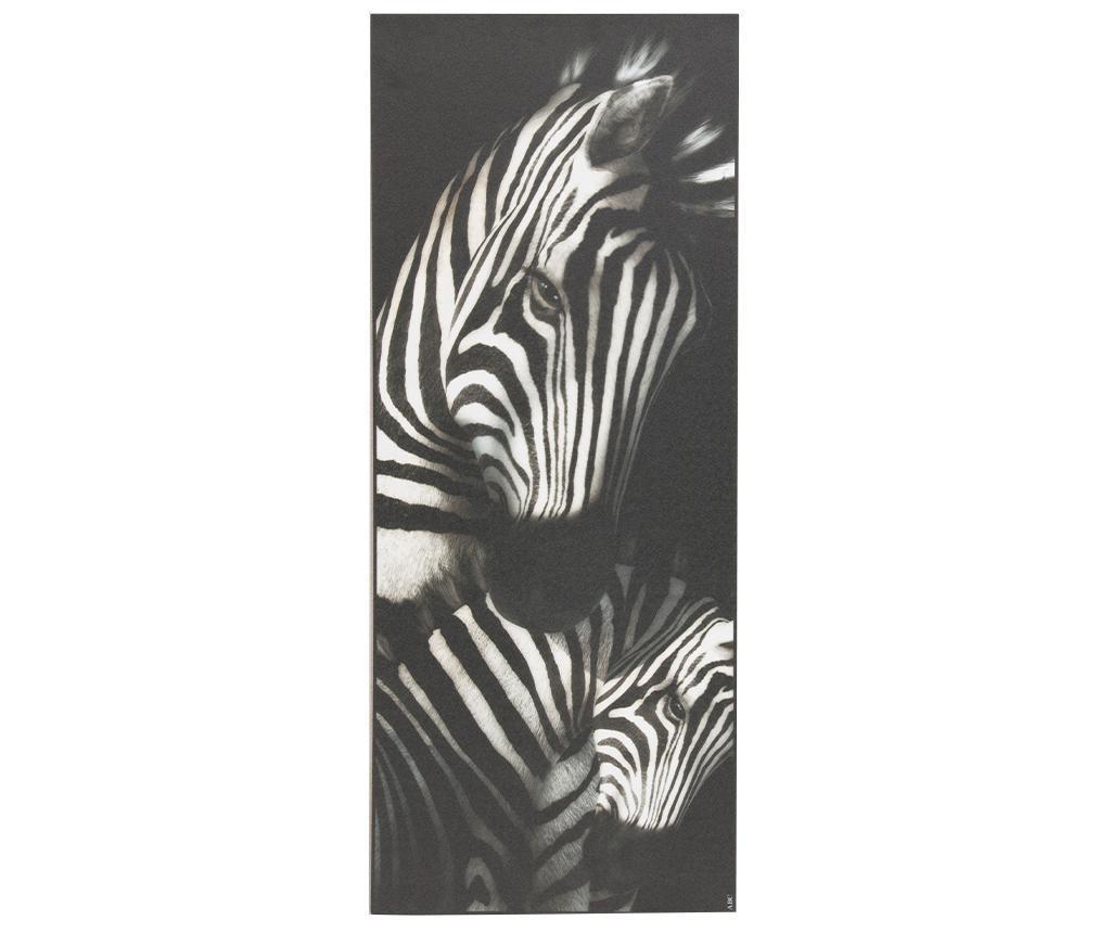 Linoleum Vista Zebra 50x120 cm - Viva, Negru imagine