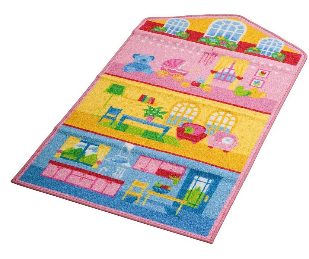 Covor Dollhouse Blue 80x140 cm - Viva, Multicolor