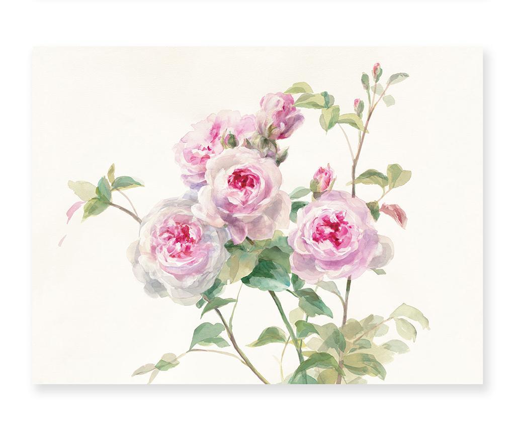 Tablou Rose Bouquet 60x80 cm - Casa Selección