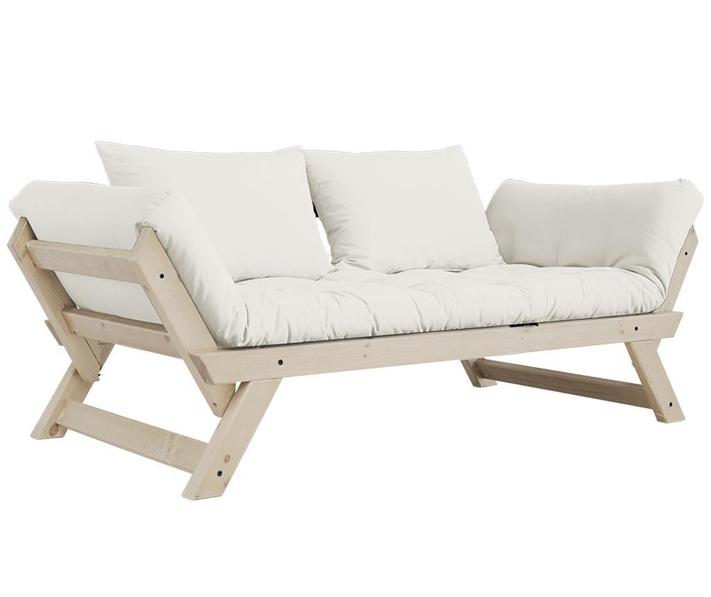 Sofa extensibila Bebop Natural - Karup Design, Crem imagine
