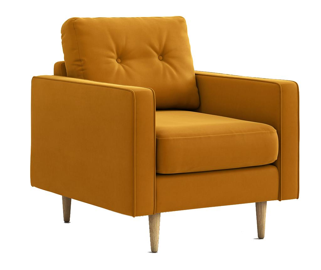 Fotoliu Esme Riviera Yellow - Optisofa, Galben & Auriu imagine