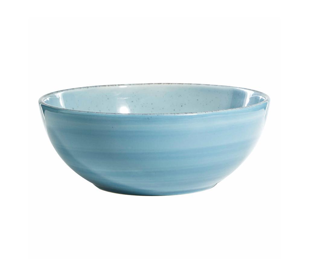 Bol pentru salata Shades Blue 1 L - Ixia, Albastru vivre.ro