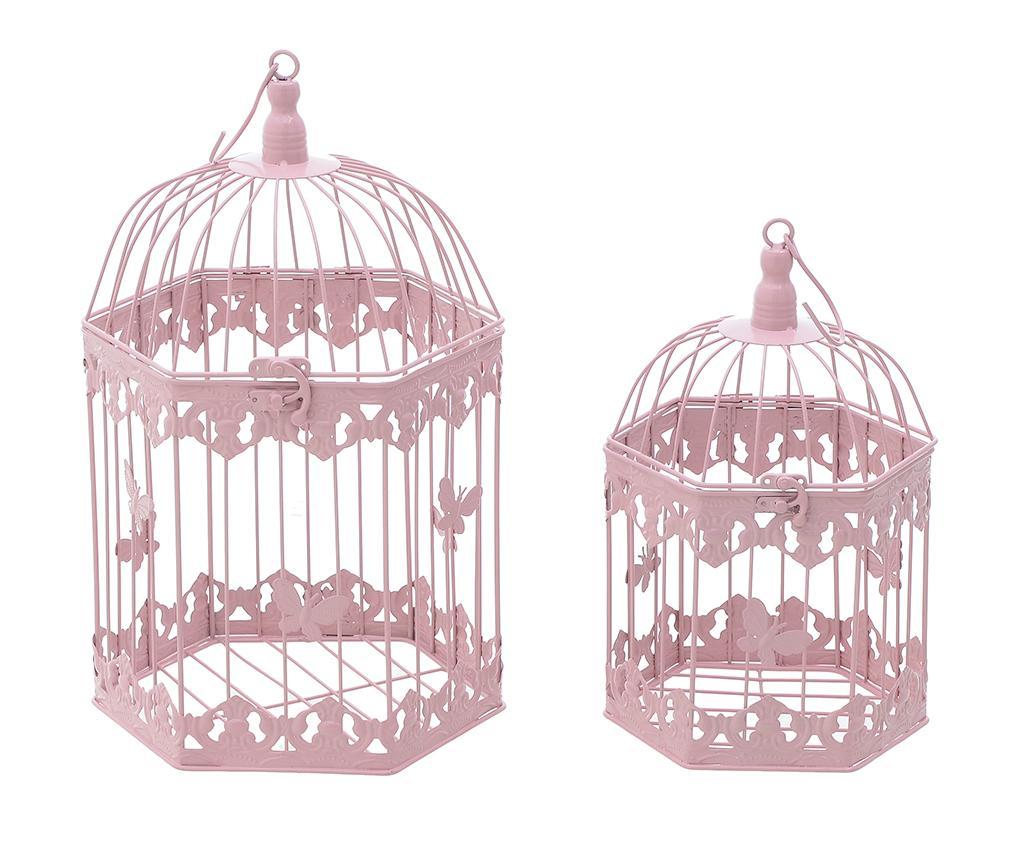Set 2 colivii decorative Freya Pink imagine