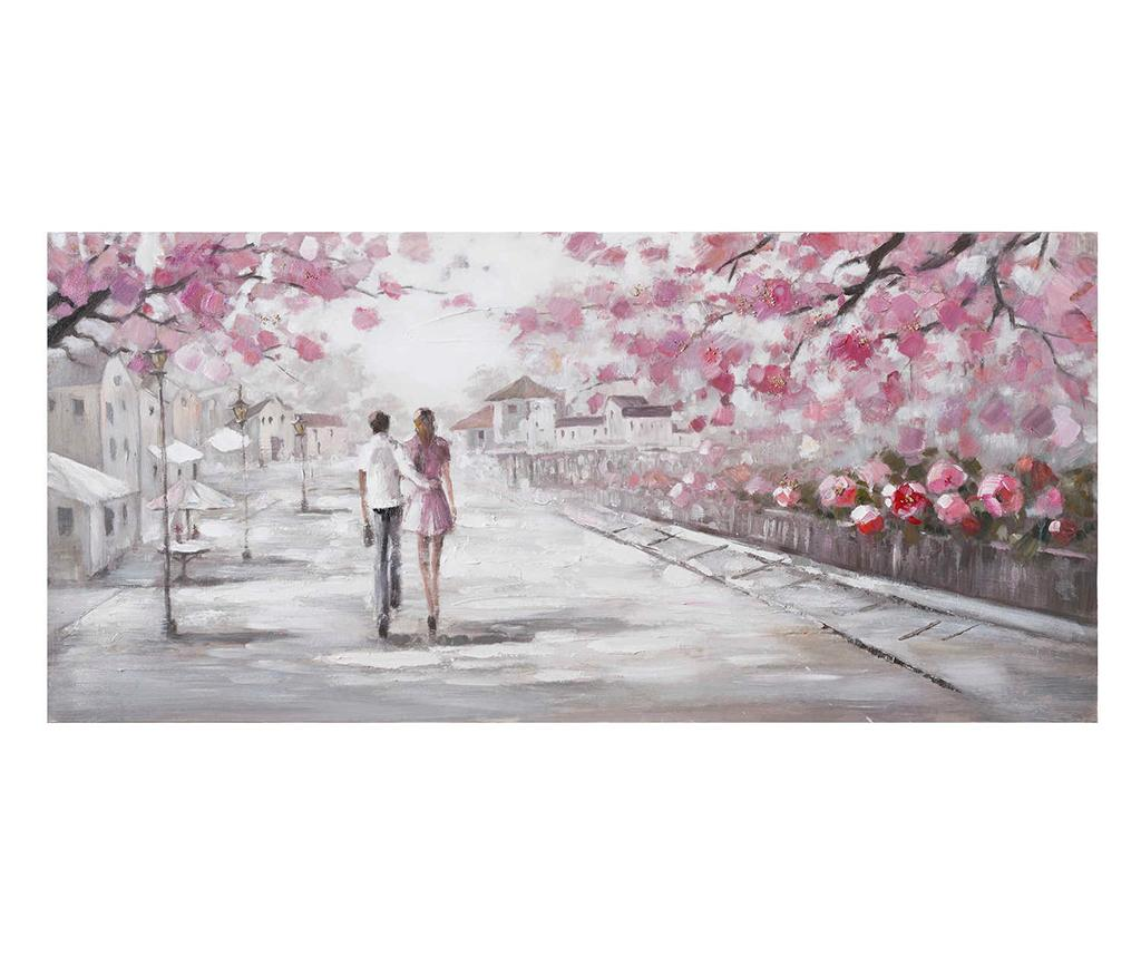 Tablou Walk 70x150 cm - Ixia, Multicolor