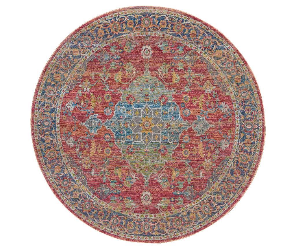 Covor Infinity 122 cm - Nourison, Multicolor imagine