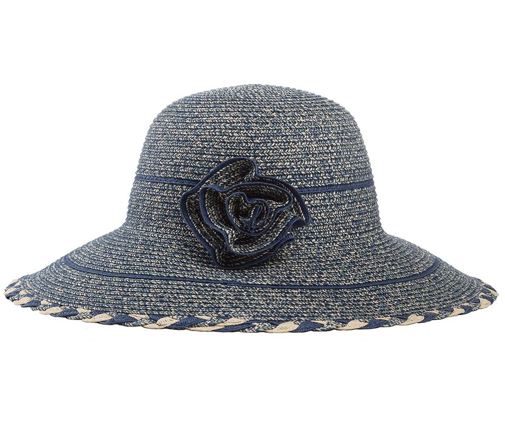 Palarie dama Rose Blue - Creaciones Meng, Albastru
