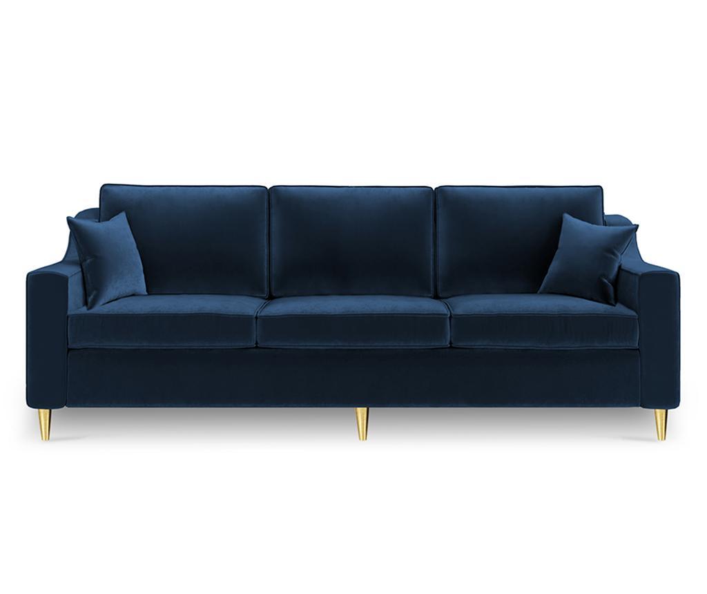 Canapea extensibila 3 locuri Marigold Royal Blue vivre.ro