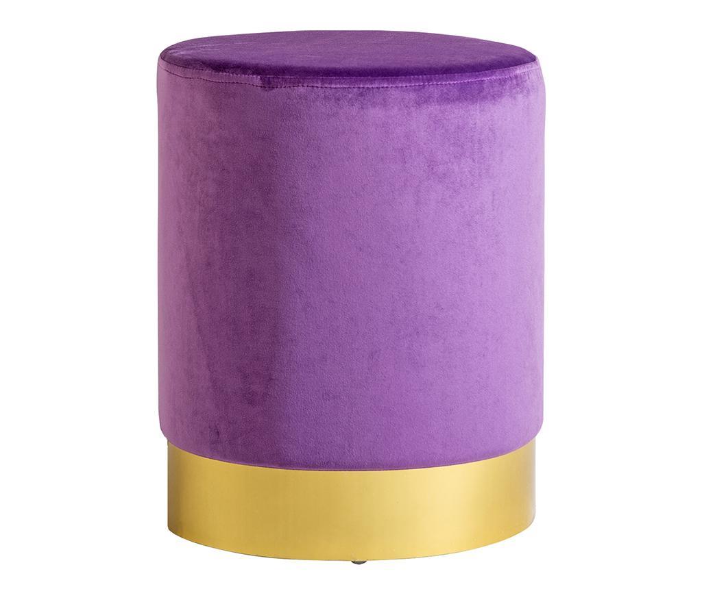 Taburet Retro Violet vivre.ro