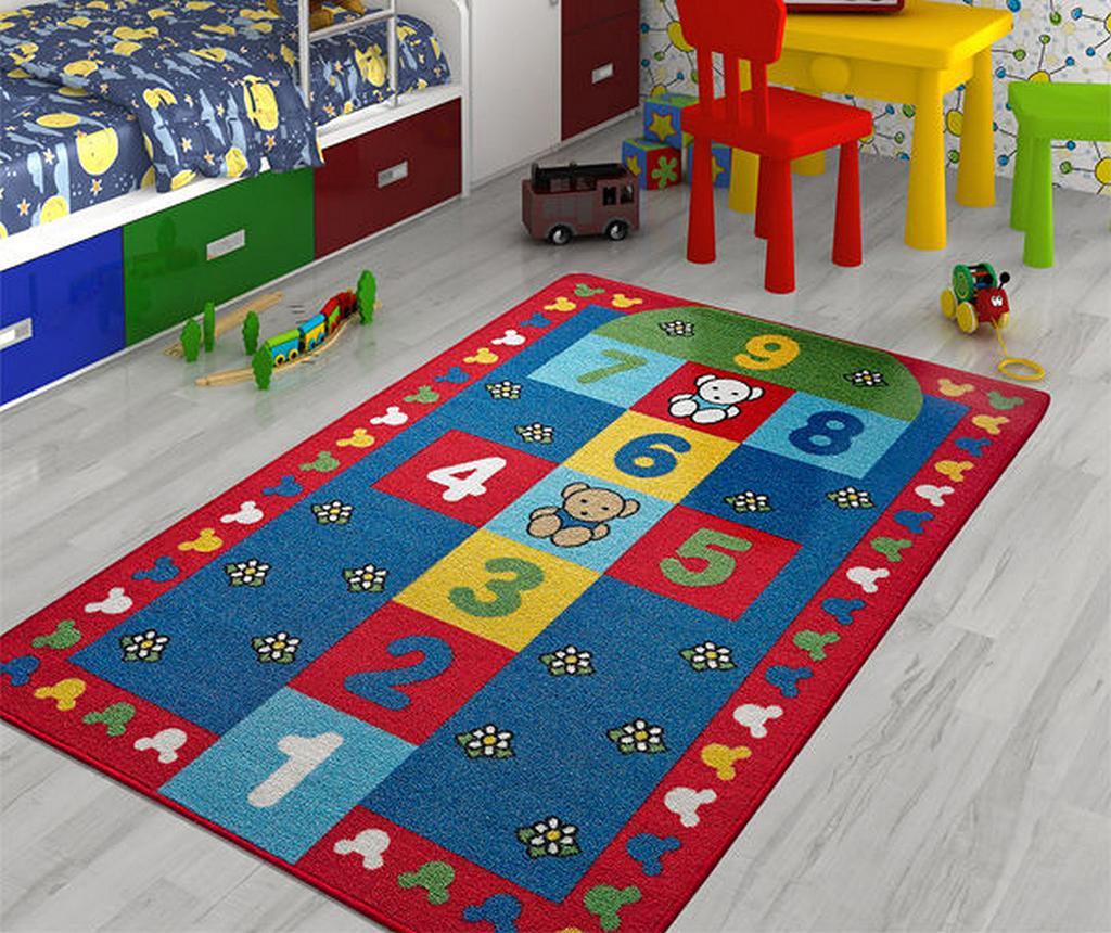 Covor de joaca Hopscotch Teddy Bear 100x150 cm vivre.ro
