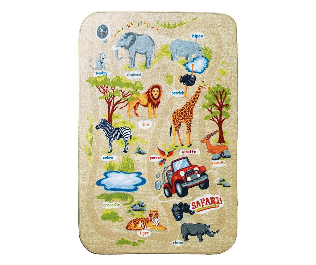 Covor Safari 133x190 cm - Confetti, Multicolor imagine
