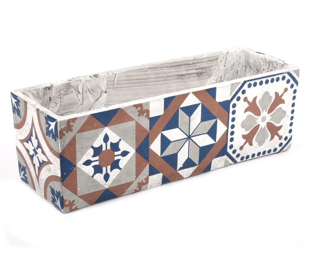 Jardiniera Portuguese - Esschert Design, Multicolor imagine