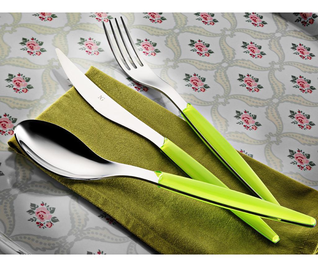 Set tacamuri 30 piese Polish Green - Kütahya Porselen, Verde
