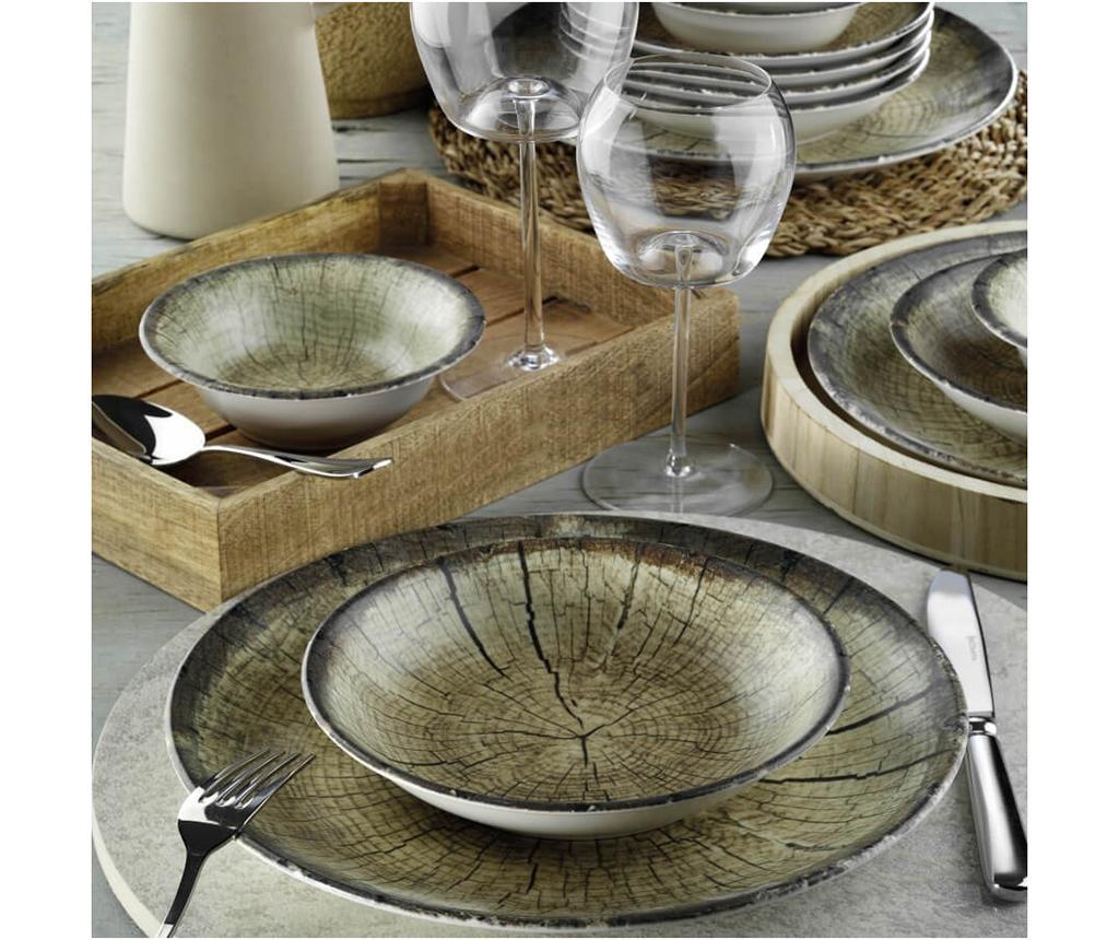 Set de masa 24 piese Trunk Nature - Kütahya Porselen, Maro imagine
