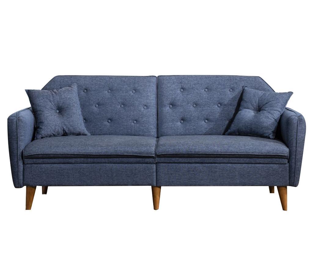 Canapea extensibila 3 locuri Susan Dark Blue vivre.ro