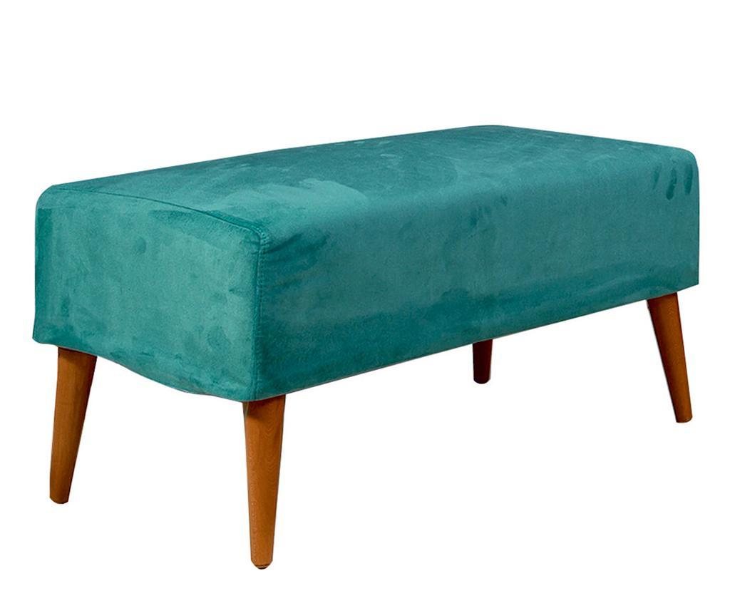 Bancheta Libre Turquoise - Unique Design, Albastru