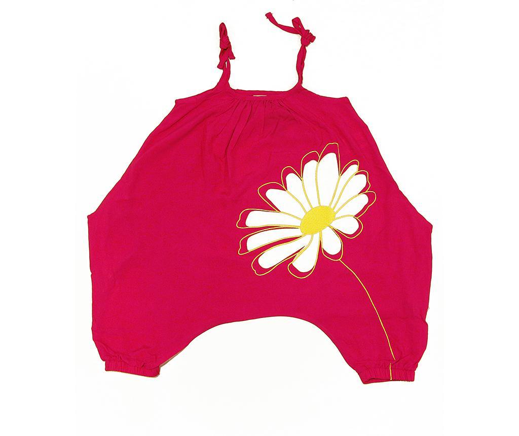 Salopeta fara maneci copii Daisy 5 ani - Mushi, Roz imagine