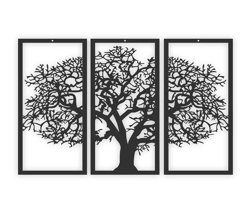 Decoratiune de perete Black Tree vivre.ro