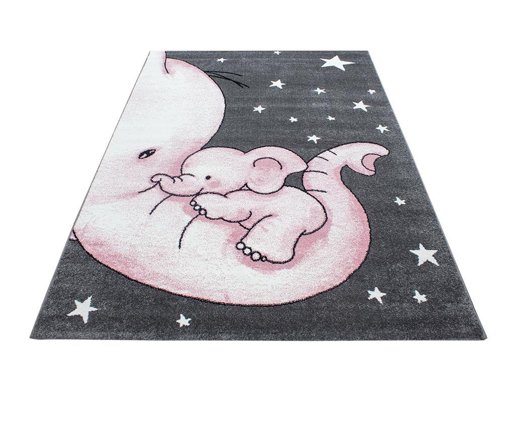 Covor Baby Elephant Pink 120x170 cm - Ayyildiz Carpet, Roz imagine