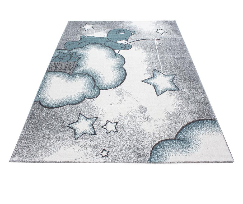 Covor Teddy Bear Blue 160x230 cm - Ayyildiz Carpet, Albastru poza