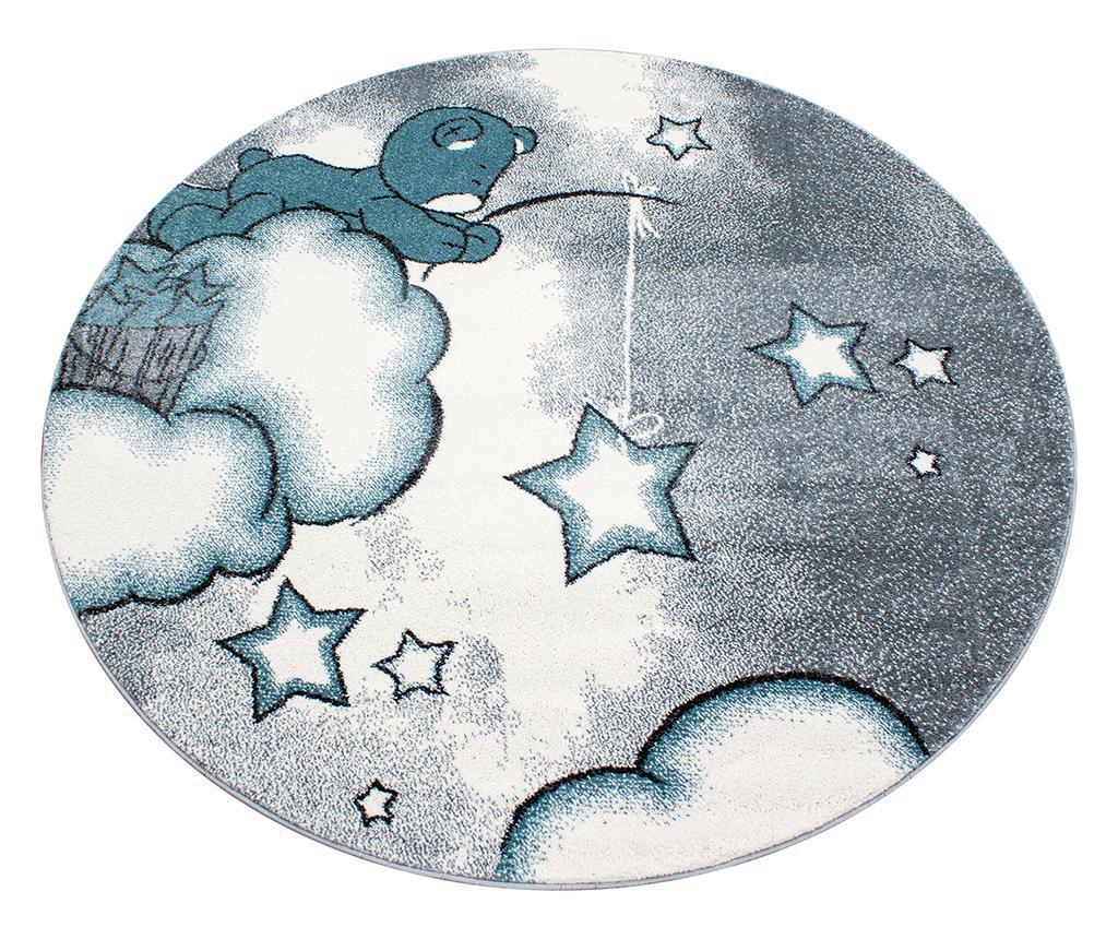 Covor Teddy Bear Round Blue 160 cm - Ayyildiz Carpet, Albastru imagine