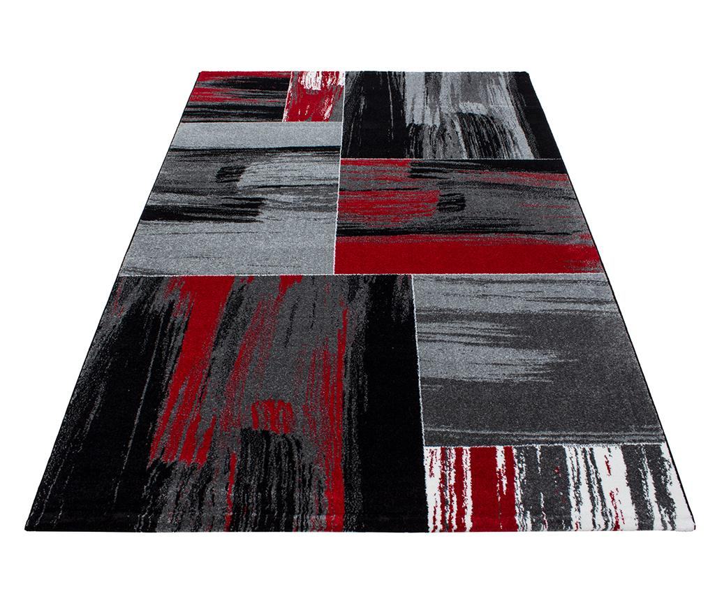 Covor Lima Abstract Red 80x150 cm