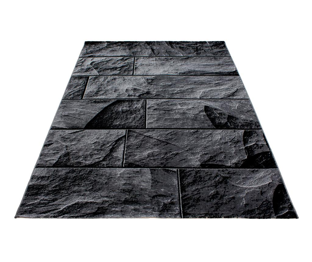 Covor Parma Bricks Black 120x170 cm - Ayyildiz Carpet, Negru imagine