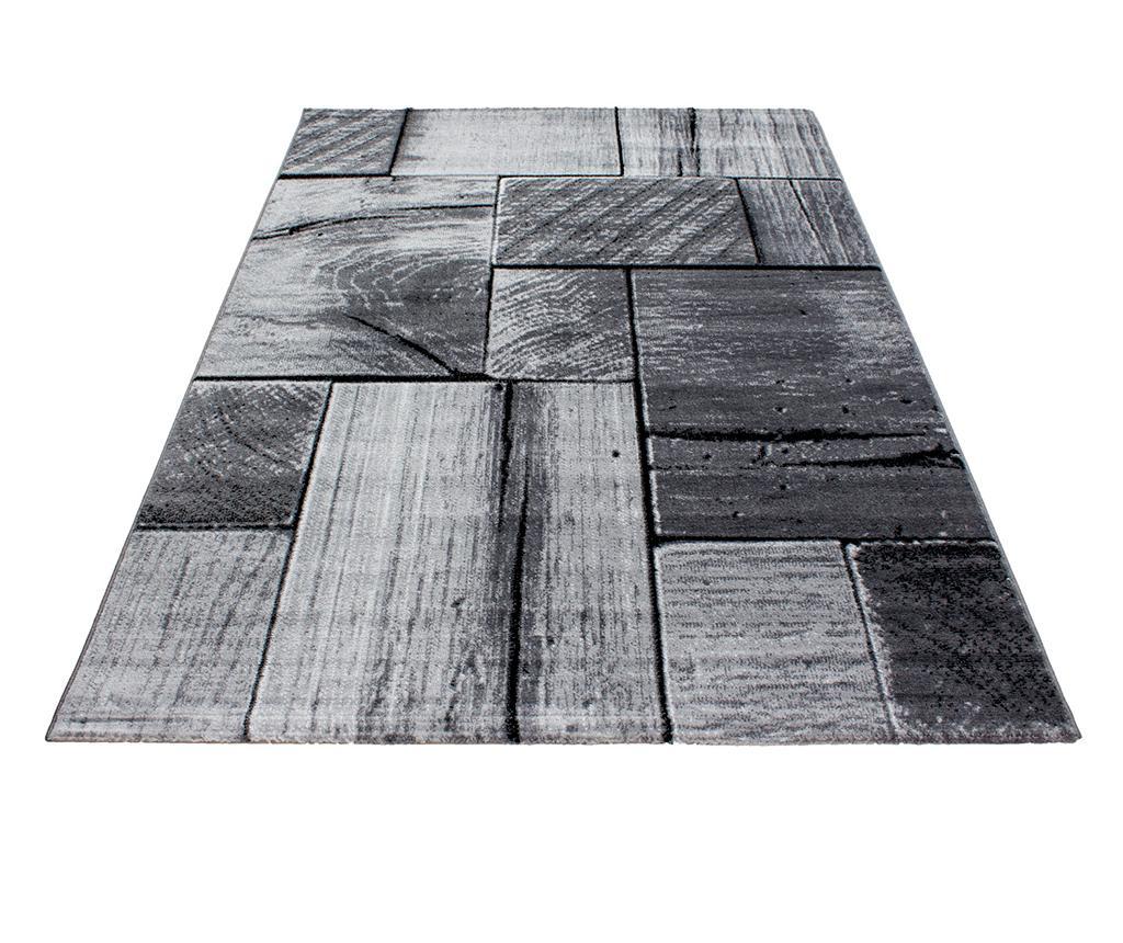 Covor Parma Wood Black 120x170 cm