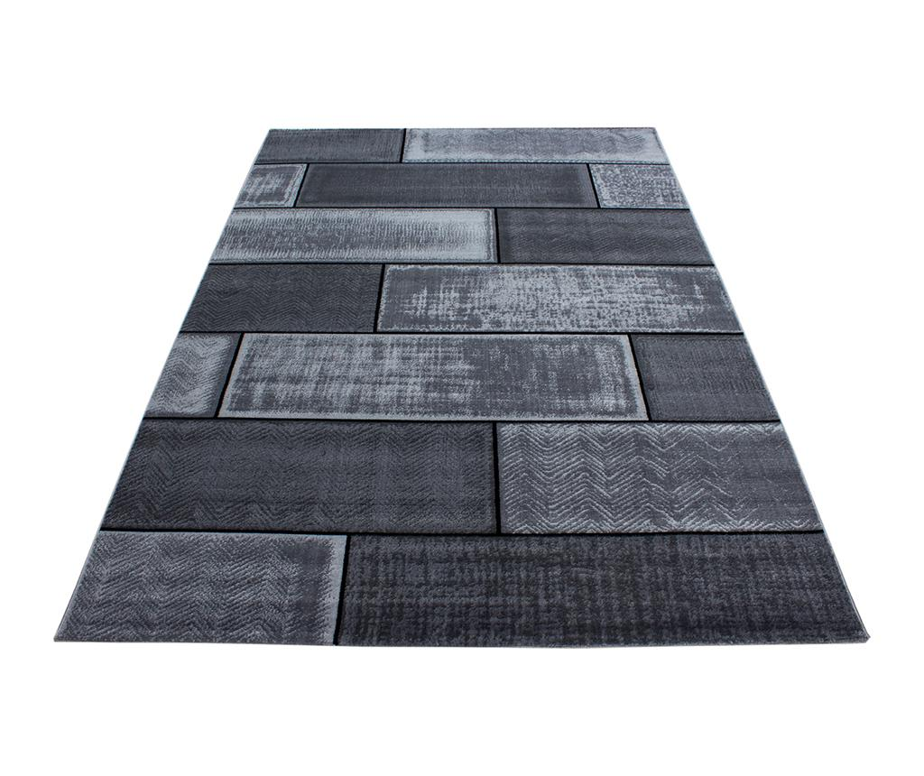 Covor Plus Cement Black 160x230 cm