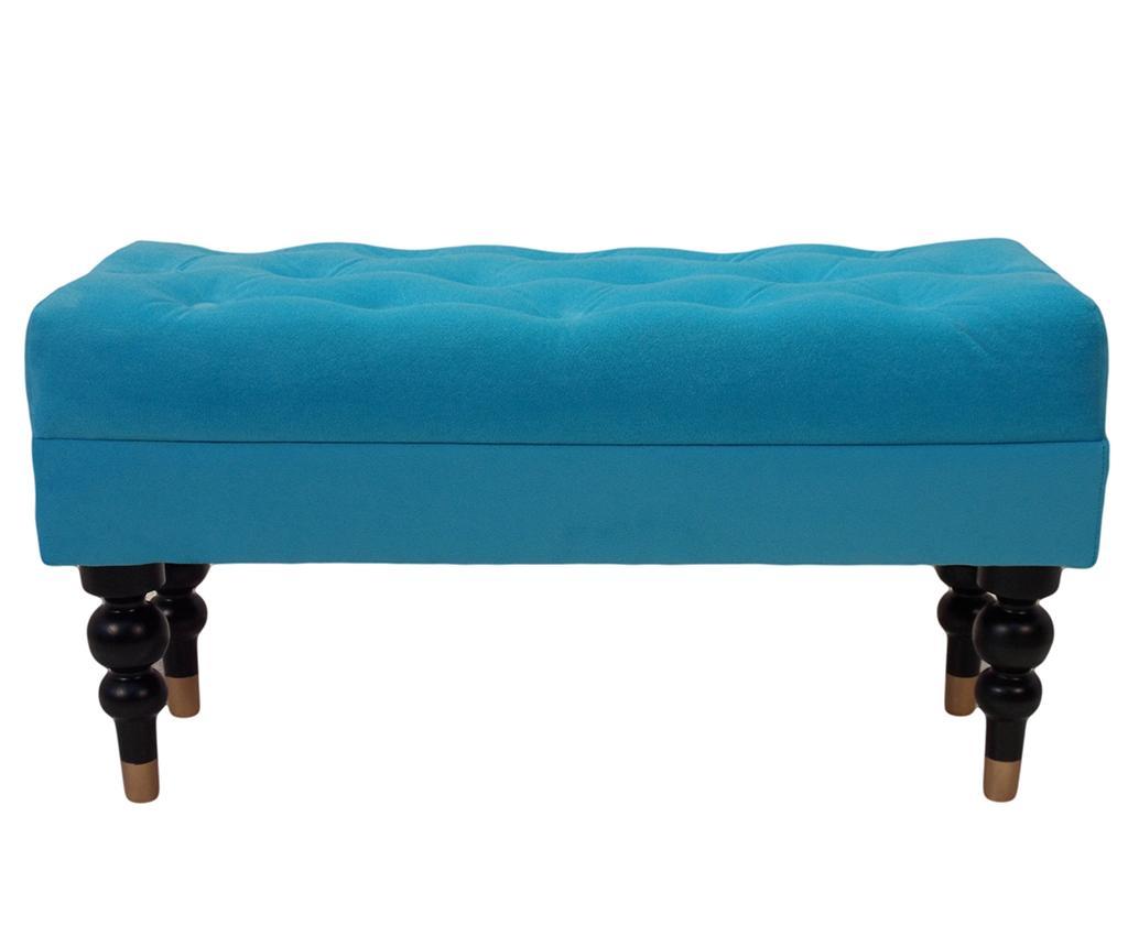 Bancheta diYana Classic Turquoise - Kalatzerka, Albastru