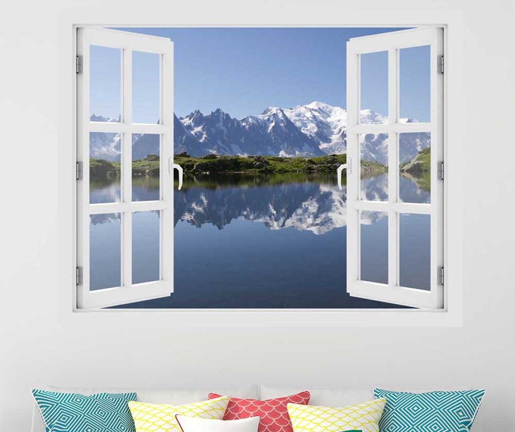 Sticker 3D Window Mont Blanc imagine