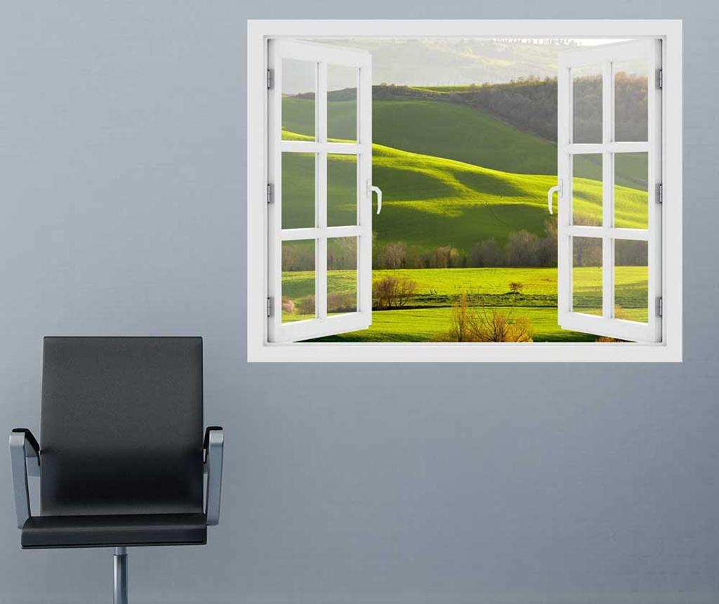 Sticker 3D Window Toscana Spring imagine