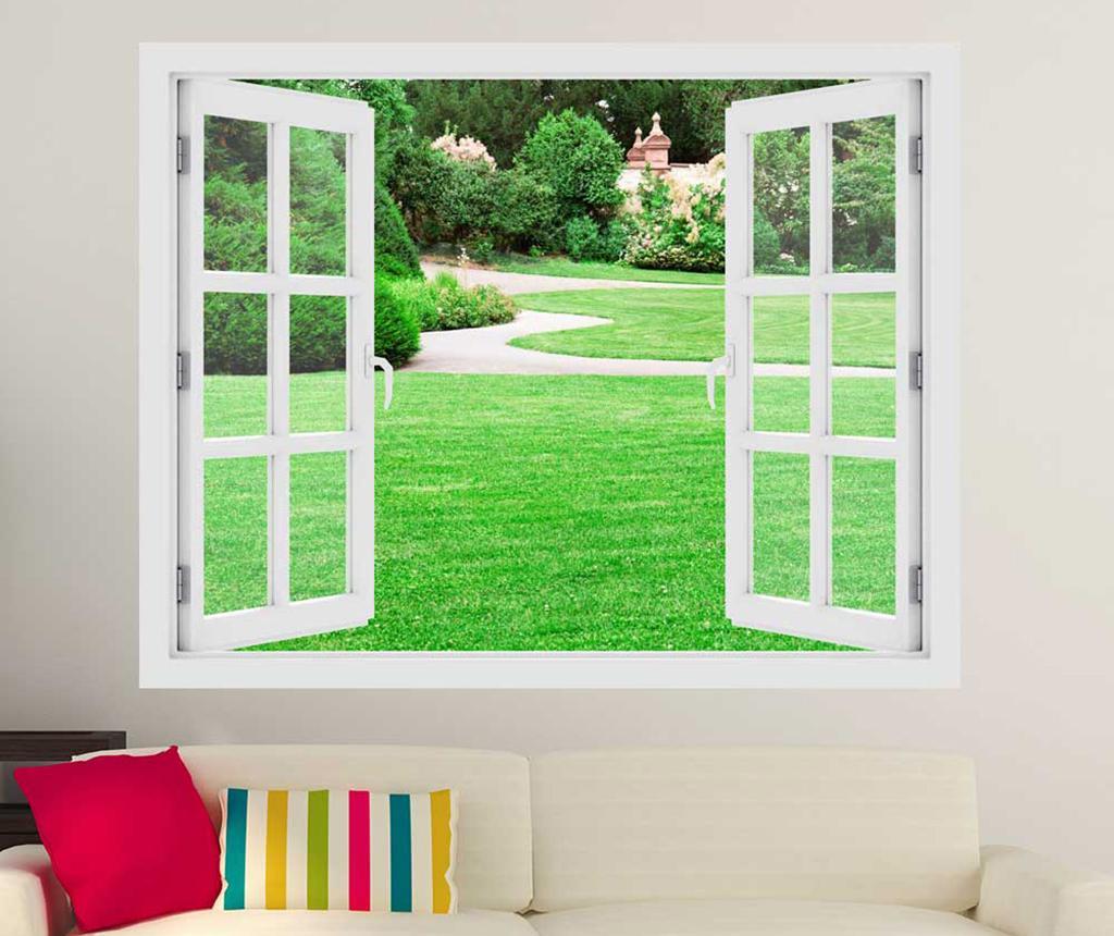Sticker 3D Window Magical Garden imagine
