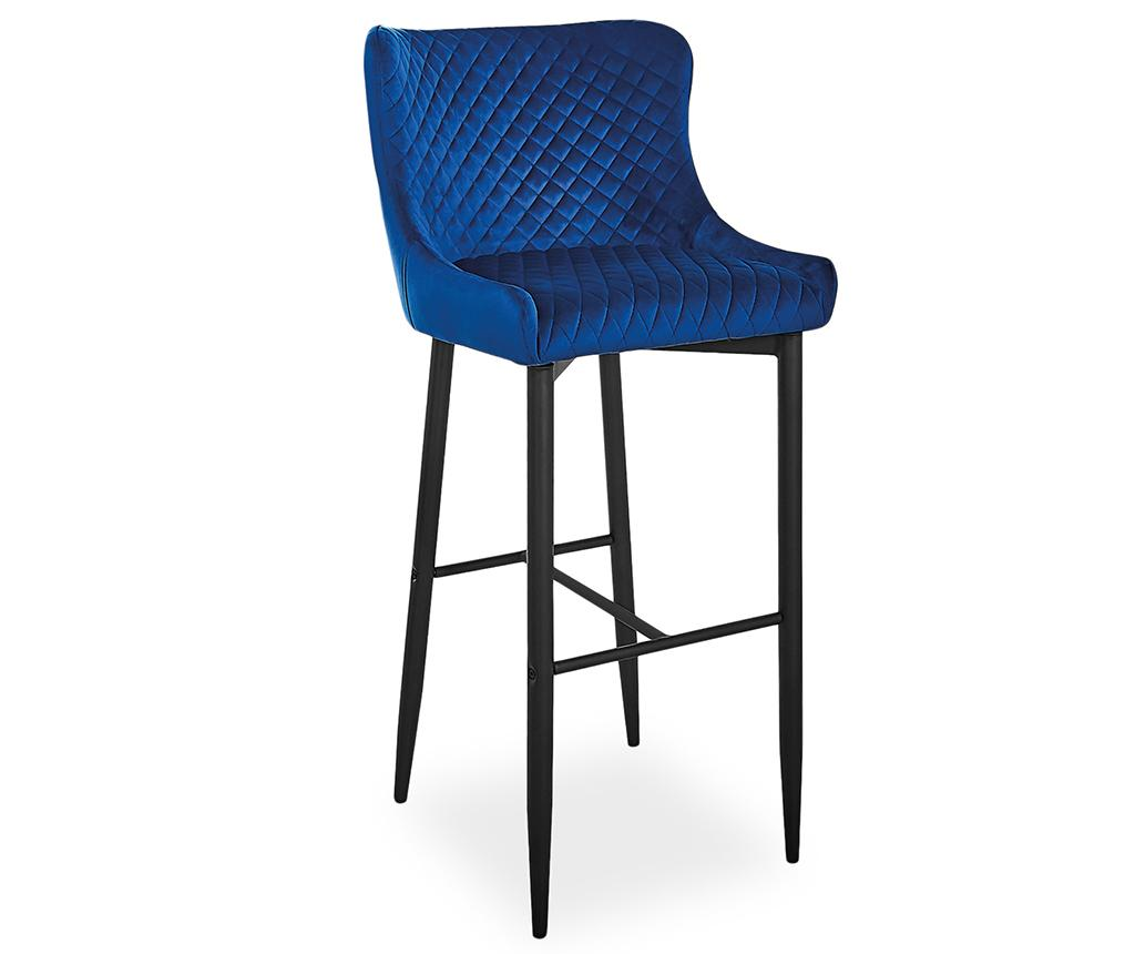 Scaun de bar Bluvel Dark Blue imagine