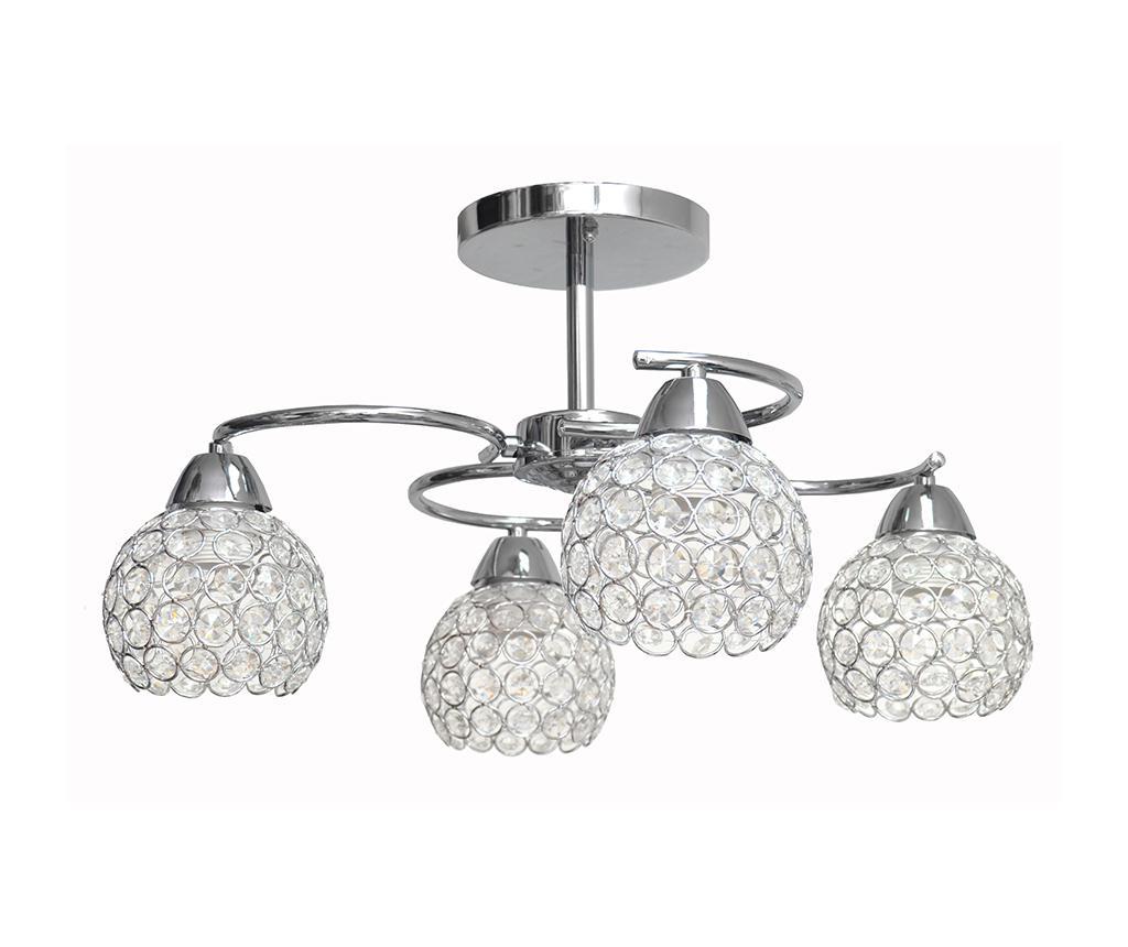 Závěsná lampa Doris Silver Four