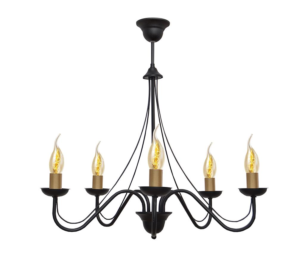 Candelabru Malbo Black Gold Five imagine